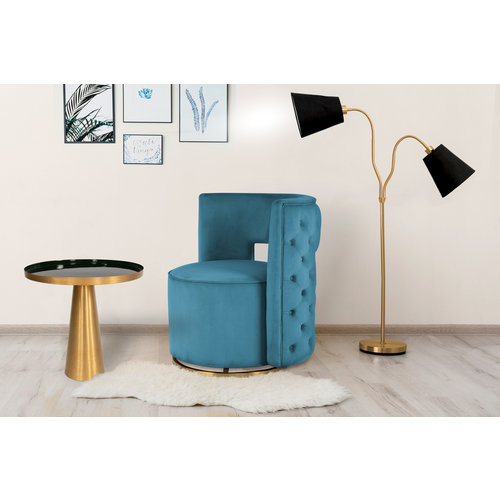 Morisson Design Bijzettafel Rond Morrison 525 Groen Metaal