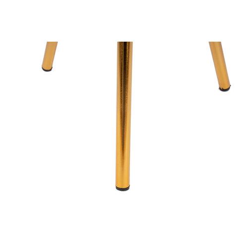Morisson Design Bijzettafel Rond Morrison 325 Grijs Goud Metaal