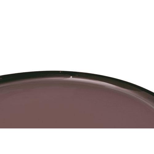 Art Deco Bijzettafel Rond Art Deco 725 Oud Roze / Zilver Metaal