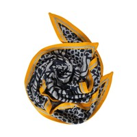 Street One Animal Mix Jacquard Knit Moon Grey Melange