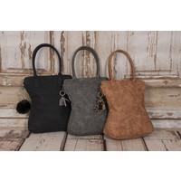 Madhura Bags Shopper Curvy Classic Zwart