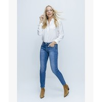 Red Button Jimmy Jeans Repreve Light Blue