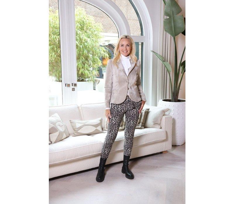Helena Hart Blazer Velvet Kort Kit