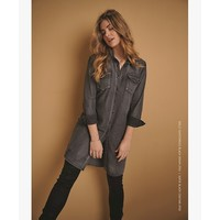 Red Button Sofie Skinny Coating Black