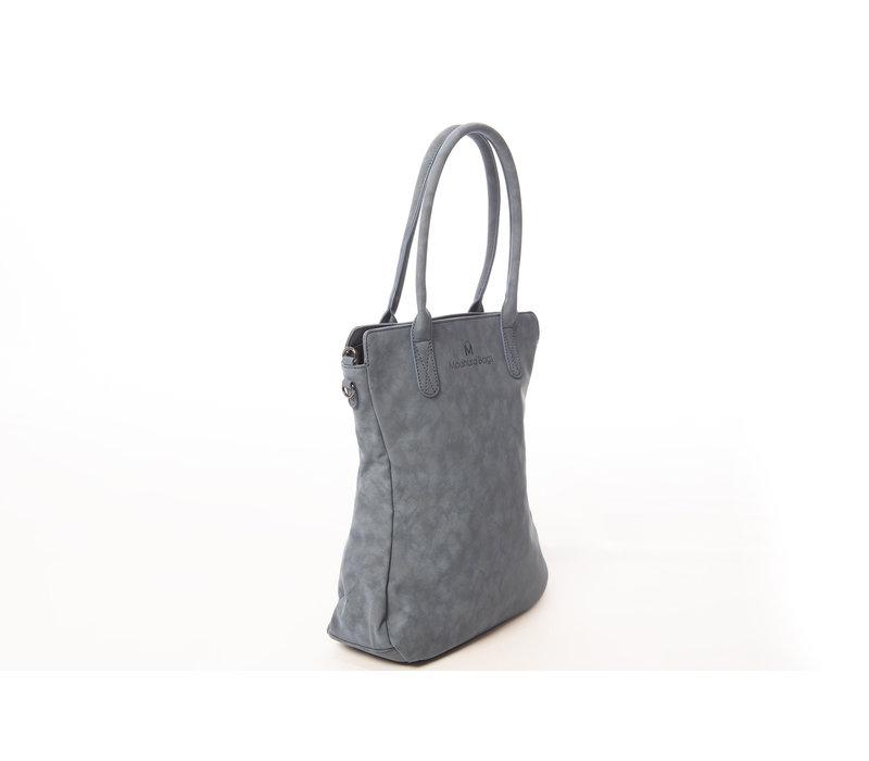 Madhura Bags Shopper Curvy Classic Blauw