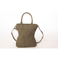 Madhura Bags Shopper Curvy Classic Groen