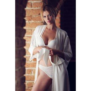 Lisca Felicity Kimono wit