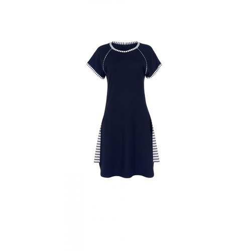 Lisca Francis Nachthemd kort blauw 23270