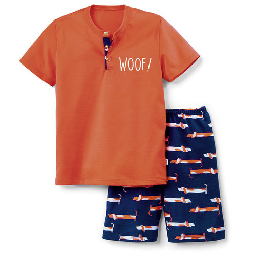 Calida Toddlers Dog Kids Pyjama kort 54177