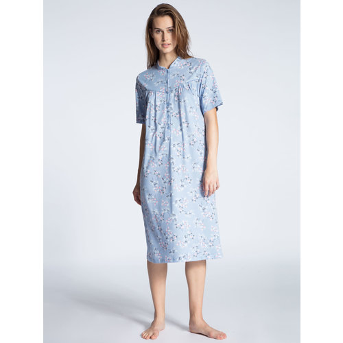 Calida Soft Cotton Women Nightdress with button tab 33900