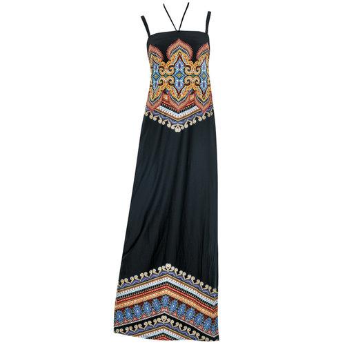 Sunflair Gipsy Queen Jurk zwart/multicolor 23330