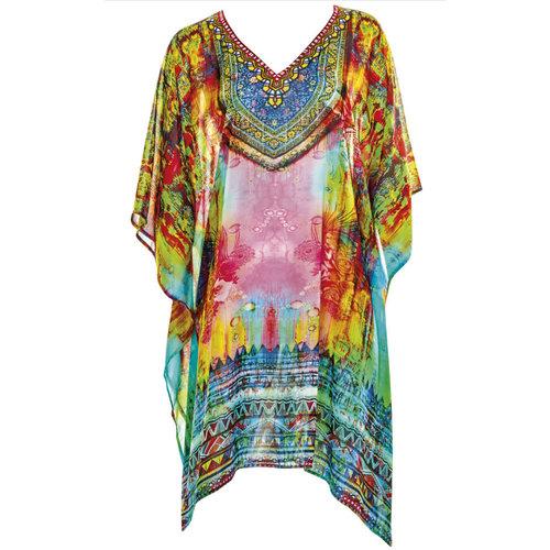 Sunflair Oriental Dream Poncho multicolor 23811