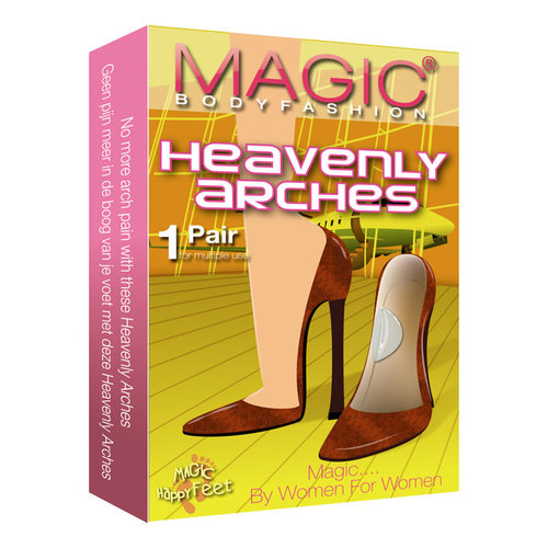 Magic Bodyfashion Happy Feet Heavenly Arches clear