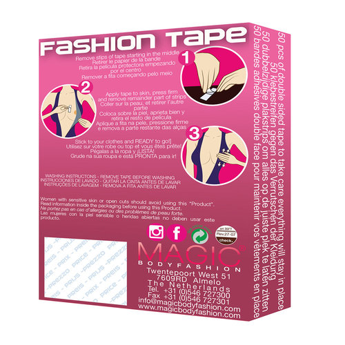 Magic Bodyfashion Fashion Tape 35FT