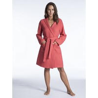 Nature Ladies Short Hooded Robe