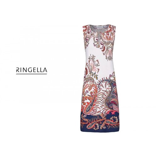 Ringella Women Beach Jurk met paisley print 0221035