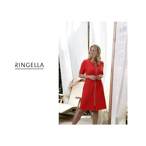 Ringella Women Beach Bad-Ochtendjas met rits 0228057