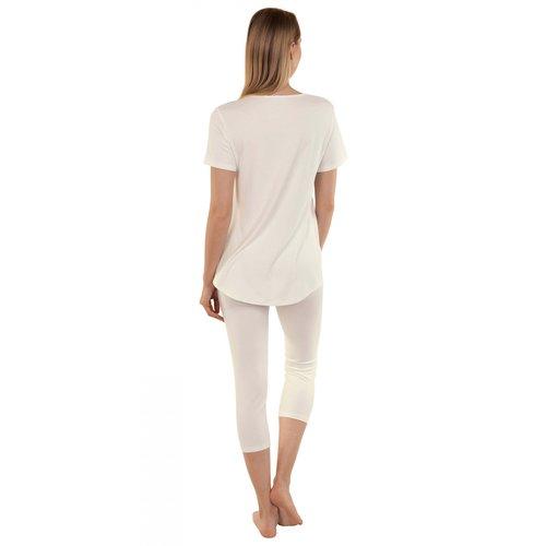 Lisca Felicity Pyjama's with tunic and 7/8 pants 23265