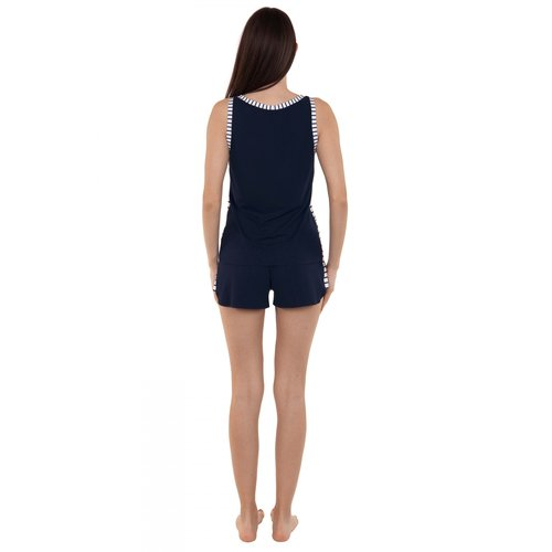 Lisca Francis Pyjama Top blauw 23269