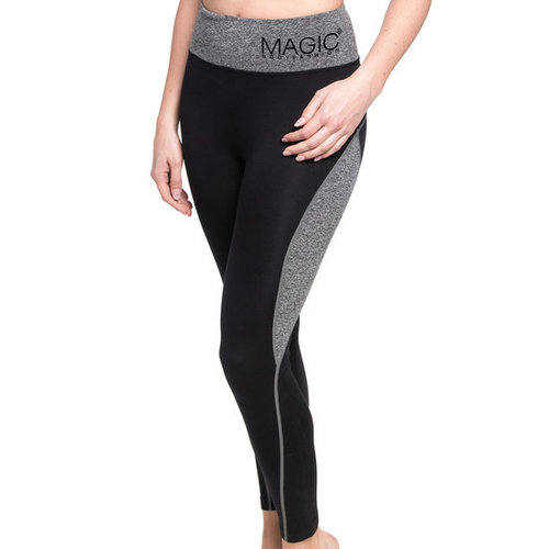 Magic Bodyfashion Active Pants Long zwart/grijs 70AL