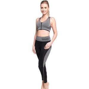 Magic Bodyfashion Active Pants Long zwart/grijs