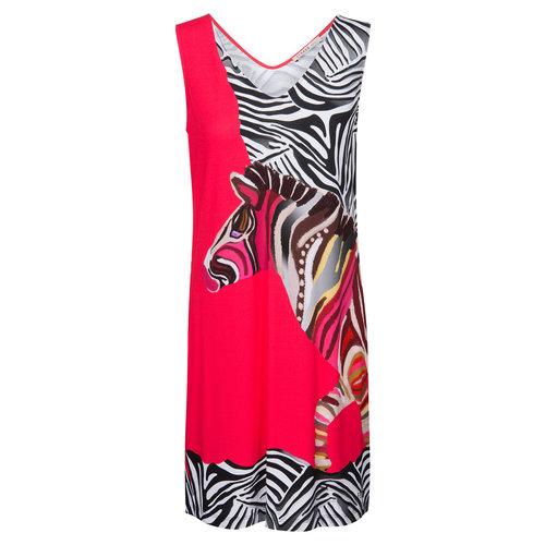 Féraud Swim & Beachwear Voyage Jurk V-hals zebra mix 3205003