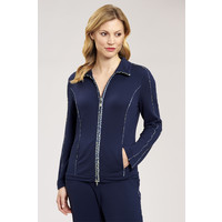 Jas Casual Chic navy