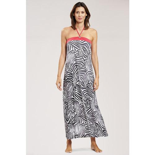 Féraud Swim & Beachwear Voyage Jurk zebra 3205075