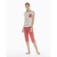 Pyjama 3/4 Trousers & Short Sleeve