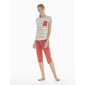 Promise Pyjama 3/4 Trousers & Short Sleeve