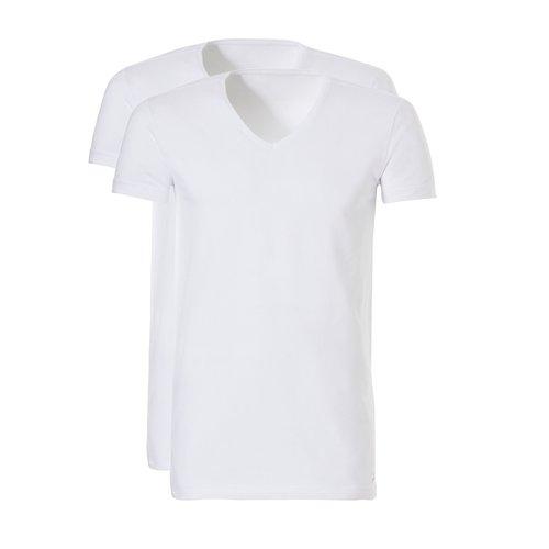 Ten Cate Basic Men V-Neck Long 2 pack 30847