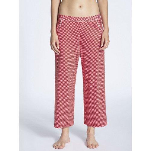 Calida Favourites Trend 6 Pyjama Set 7/8 Pants rood  14337 - 28290