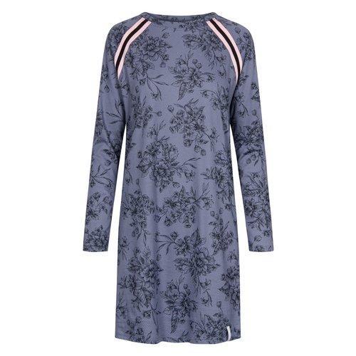 Rösch Nachthemd Smokey Blue Print 1202125