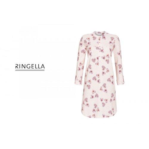 Ringella Nachthemd met Knoopsluiting 0511012