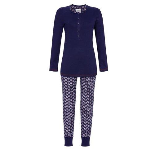 Ringella Pyjama met Knoopsluiting 0511230