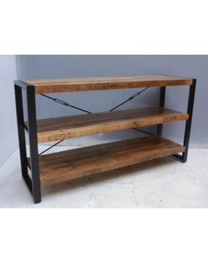 TV meubel dressoir Industrial Mango - 150 cm