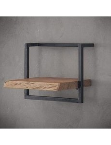 Wandplank Live Edge 40 cm