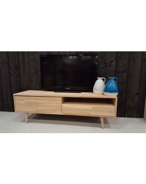 TV meubel retro/ modern eiken