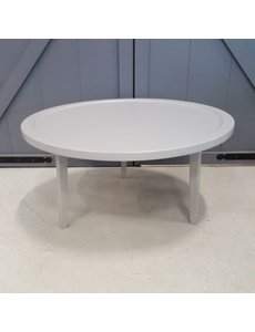 Ronde salontafel Ø 80 cm betongrijs