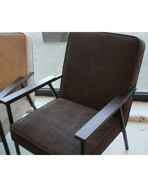 Fauteuil Rib antraciet