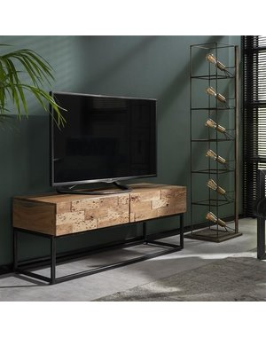 TV-meubel Mill acacia 120 cm - 2 lades