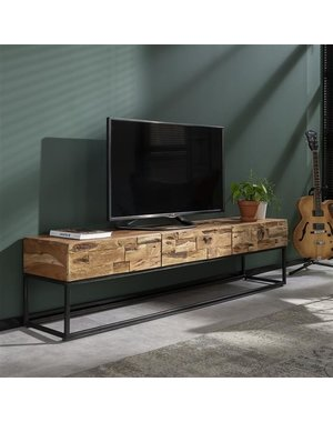 TV-meubel Mill acacia 180 cm  - 3 lades
