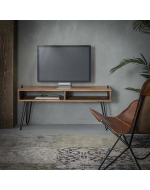 TV-meubel Quadro acacia naturel