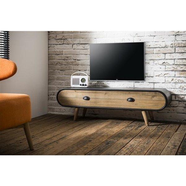 TV-meubel Trunk 1 lade / Zwart
