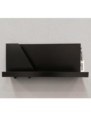 Wandplank metaal zwart Calu