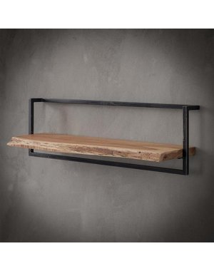 Wandplank Live Edge 100 cm