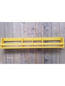 Wandplank breed Shelving geel