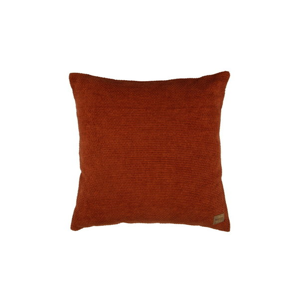 BePureHome Kussen Craddle Chenille Roest