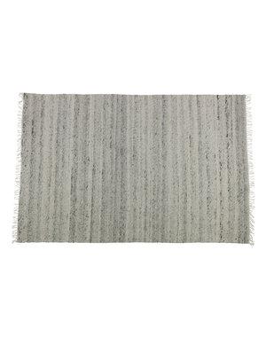 Vloerkleed Wol Grijs 170 x 240