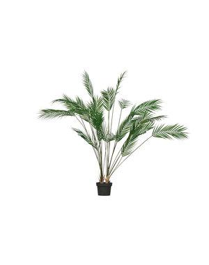 Woood Palm kunstplant groen 110cm